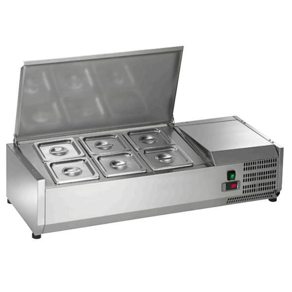 Arctic Air Countertop Refrigerated Rail Sandwich prep Unit ACP40