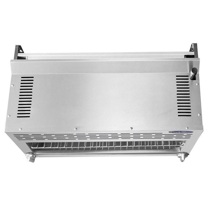 "ATOSA 36"" Cheesemelter with Total 35,000 BTU, NG/LP ATCM-36"