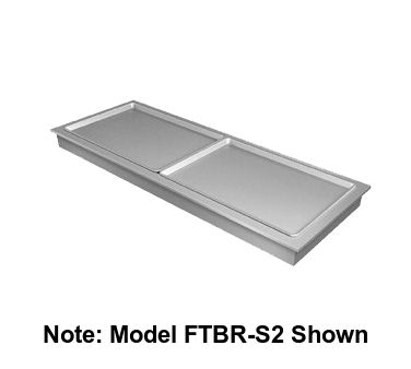 "Hatco Drop-In Slim Frost Top Side Mount 80.81""L (3) Full Size Sheet Pan Capacity"