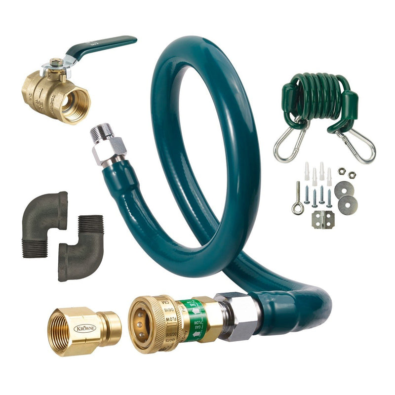 "Krowne M5024K 1/2"" by 24"" Gas Quick-Disconnect Complete Kit M5024K"
