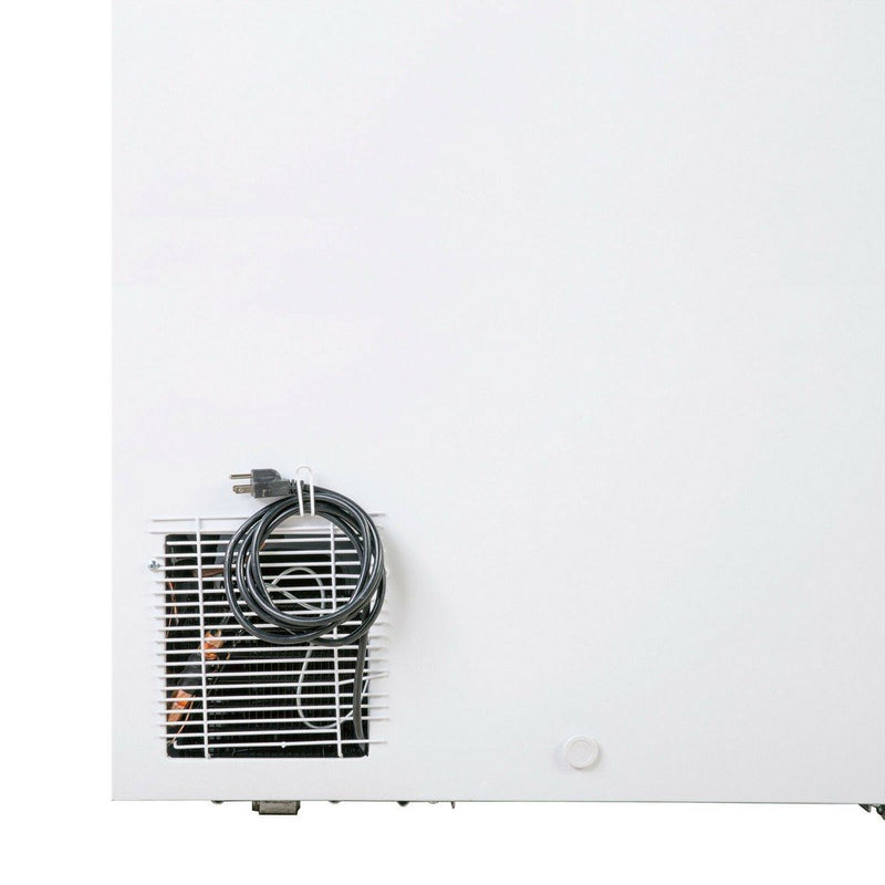 MAXX MXSH12.7S Flat Chest Freezer, NSF, 5Yr Compressor, 50Wx30Dx34H