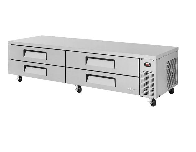 "Turbo Air TCBE-96SDR-N Super Deluxe 96"" Four  Drawer Chef Base"