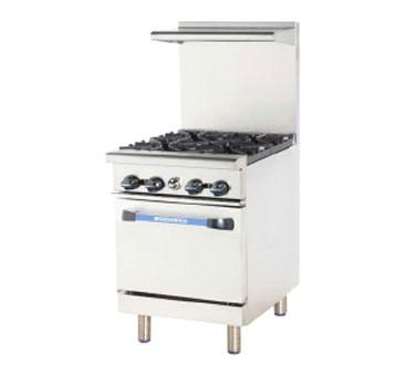 Radiance 4 Burner Range with Standard Oven TAR-4