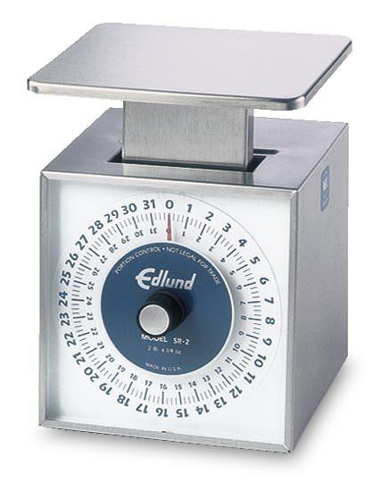Edlund SR-2 Kitchen Scale Mechanical 32 Oz X 14 Oz