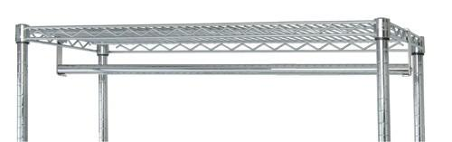 QUANTUM Hang Bar for Shelving Kit, NSF