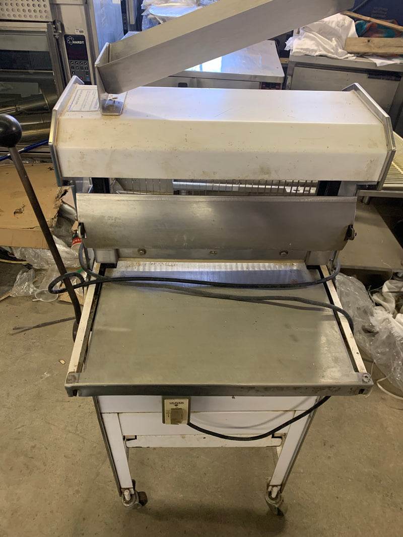OLIVER 777 COMMERCIAL BREAD SLICER USED