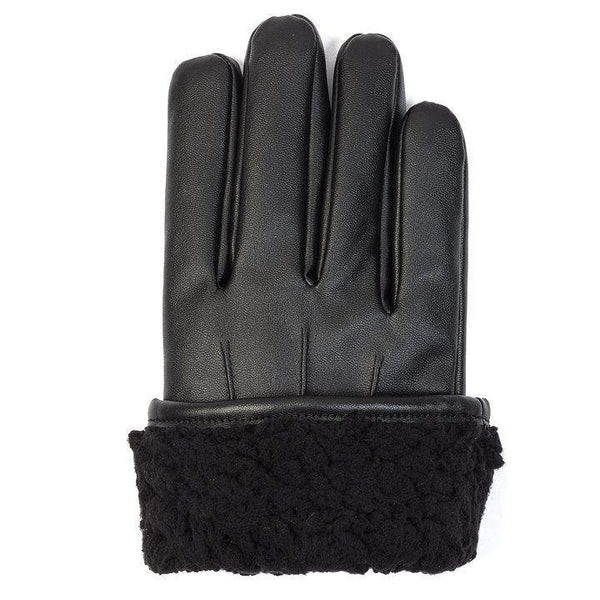 Benson & Brown Faux Leather Gloves
