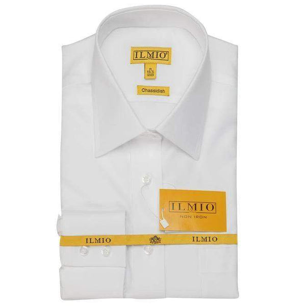 Ilmio F1 Gold Label Boys Shirt Chassidisch (Right Over Left) Regular