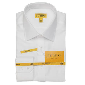 Ilmio F1 Gold Label Mens Shirt Left Over Right Slim Fit