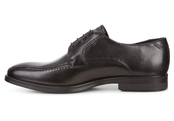Ecco Melbourne With Lace Mens Black Shoe style: 62160401001