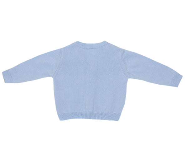Dr. Kid Baby Boys Light Blue cardigan