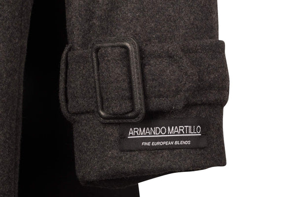 Armando Martillo Boys Wool Coat