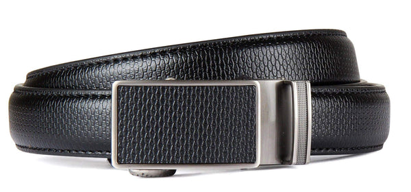 Madison Boys Black Leather Belt Style: 5609