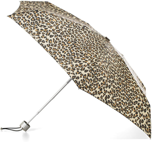 Totes Small Lady Umbrella Tiger Print Style: 8702