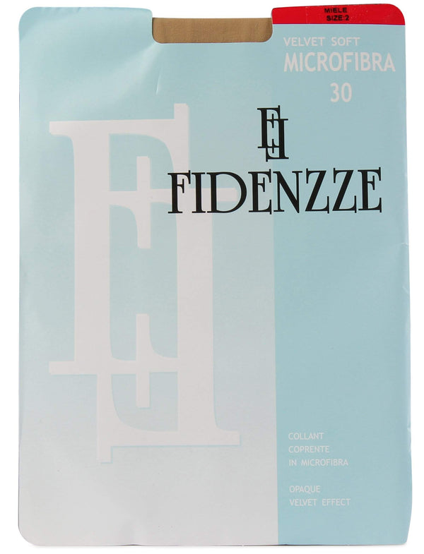 Fidenzze Opaque Microfiber Velvet Effect Women Tights Micro 30 Style: 45
