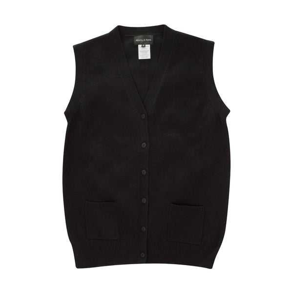 Robert di Roma Men's Black Vest With Buttons