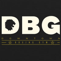 DBG Logo Tee - Unisex Soft Fitted Triblend Tee - Vintage Black