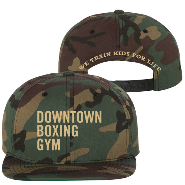 DBG Adjustable Snapback - Camo