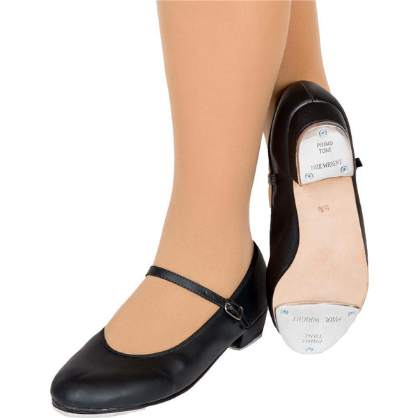 Buckle Tap Shoe - Black
