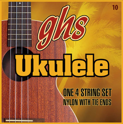 GHS Set 10 Ukulele Strings