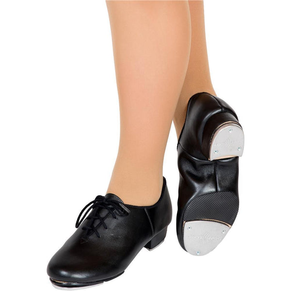 Split Sole Tap Shoe Black