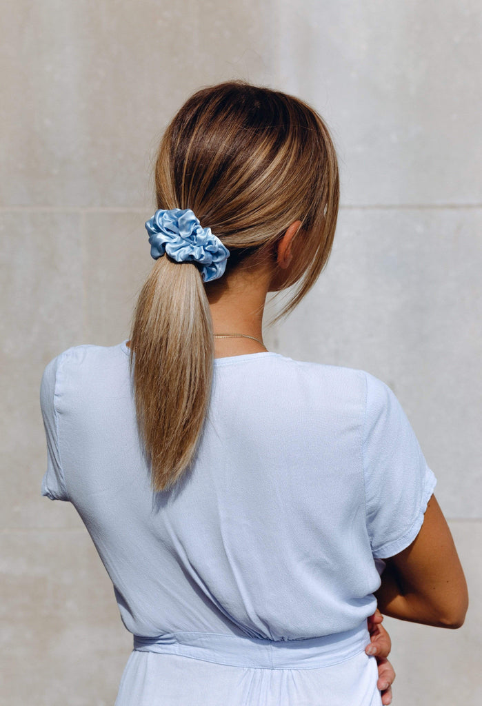 Pure Silk Scrunchie - SKYLER