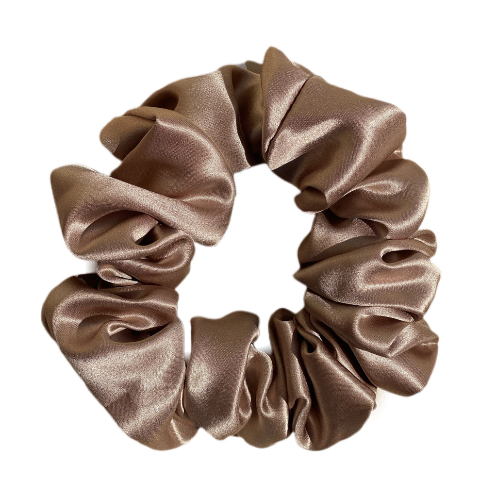Organic Premium Silk Scrunchie - SUNDAY
