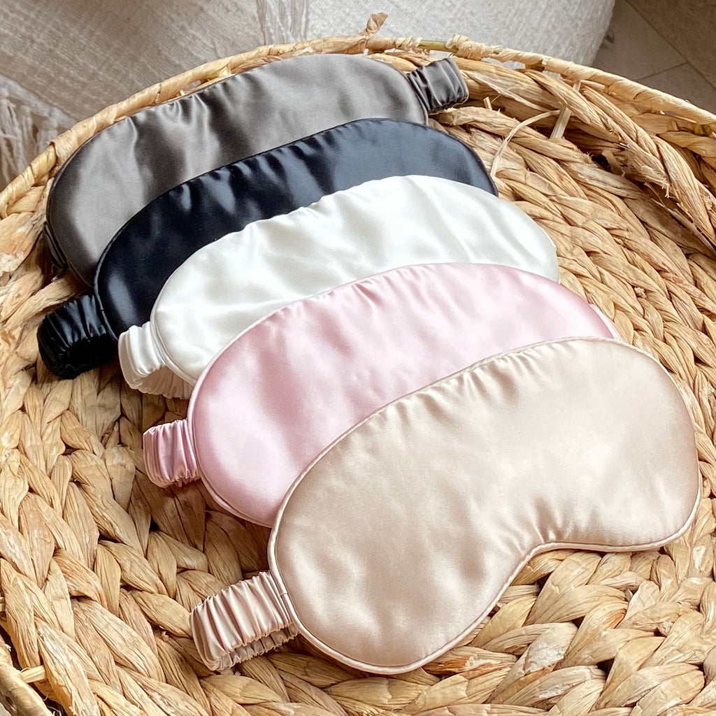 Silk Sleep Mask - Pink