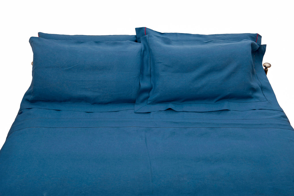 Bed Set -  Indigo Blu