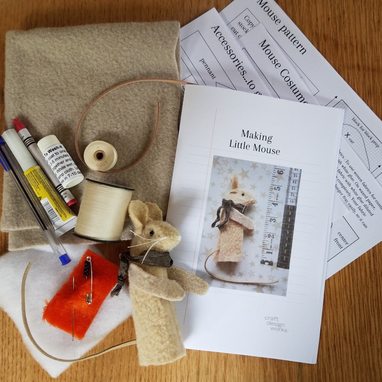 Little Mouse Kit - Makes 2!