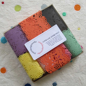 Paper Lace Rainbow Assortment