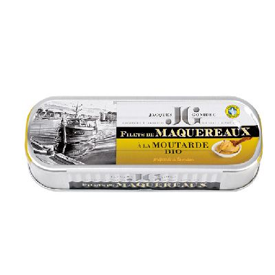 FILET MAQUEREAUX MOUTARDE 169G