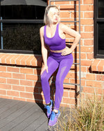 Get It In Mesh Seamless Set - Purple