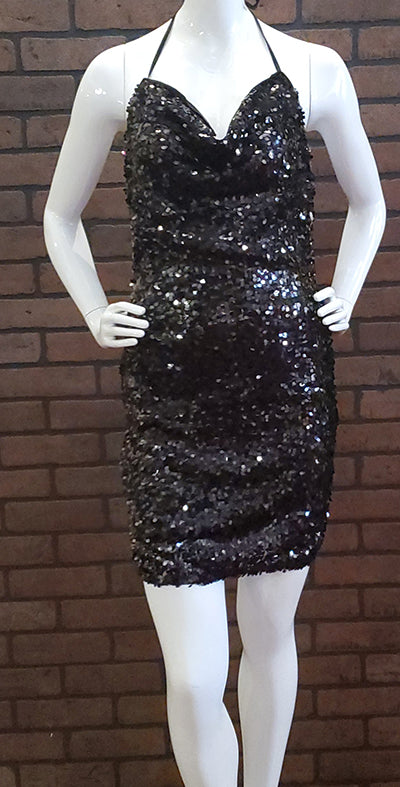 My Little Black Dress Sequin