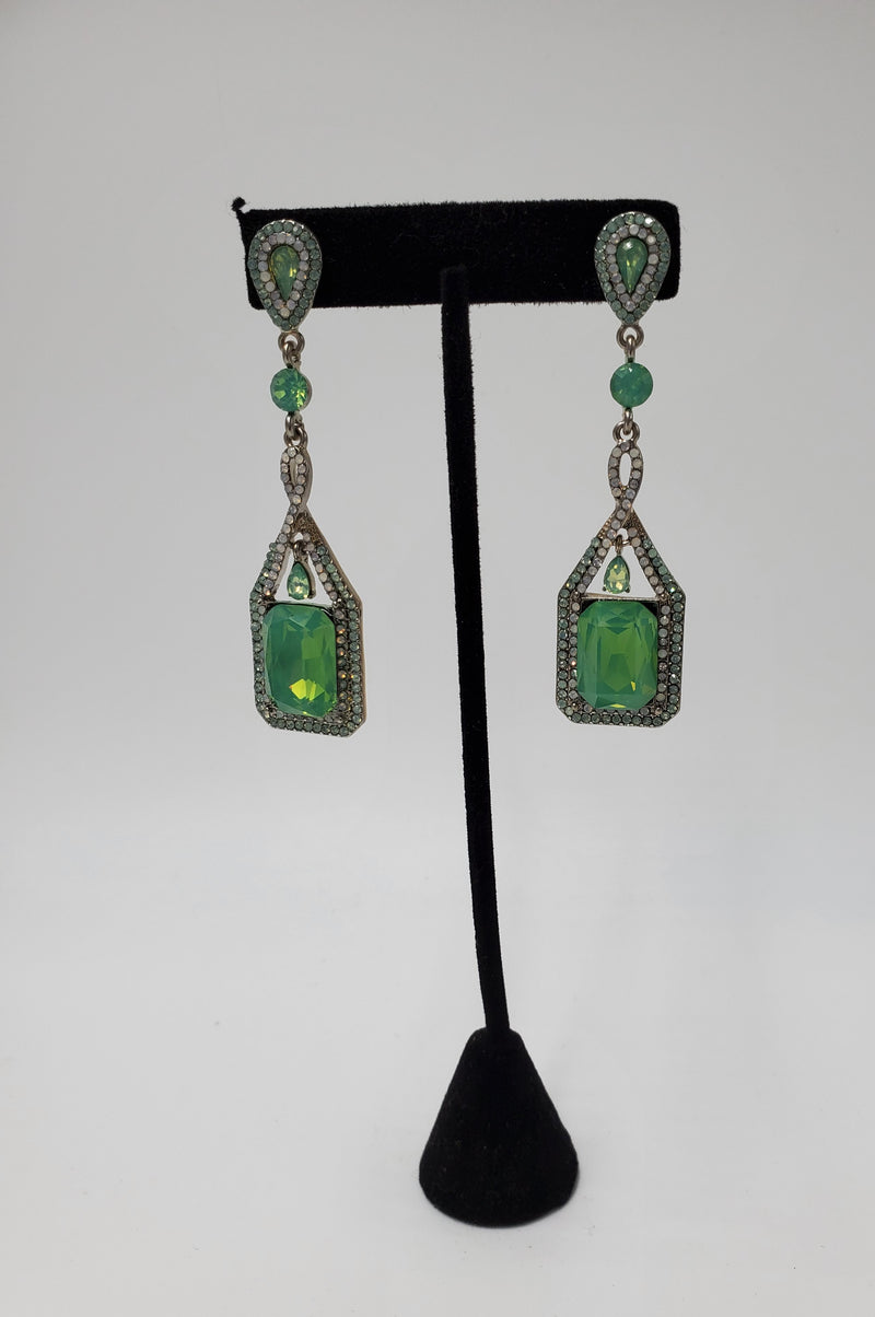 Custom Green Danglers