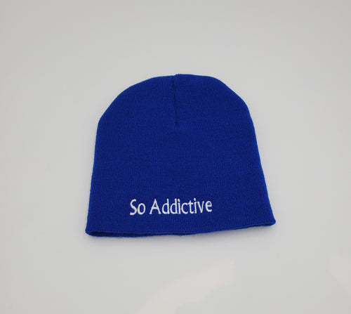 So Addictive Wool Beanie Hat