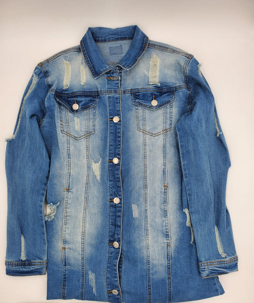 So Addictive Embroidered Denim Jacket