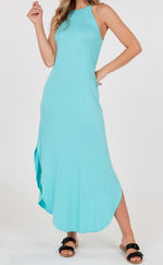 A touch of mint dress