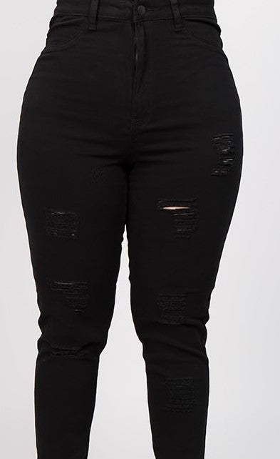 plus size Black label jeans