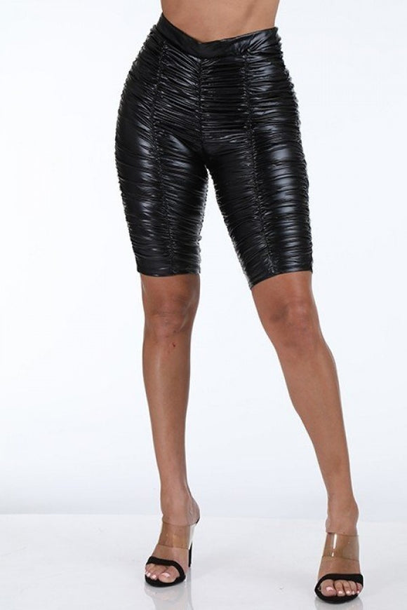 Rouged Biker shorts