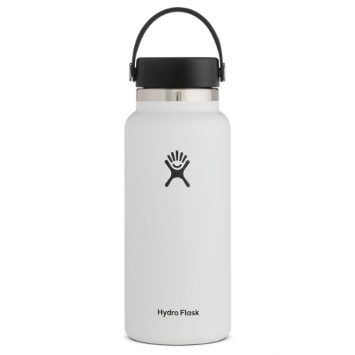 Hydro Flask Wide Mouth 32oz White