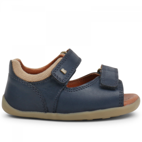 Bobux Step Up Driftwood Navy / Brown