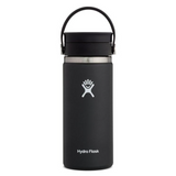 Hydro Flask Coffee Flask with Flex Sip Lid 16oz Black