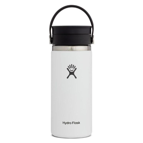Hydro Flask Coffee Flask with Flex Sip Lid 16oz White