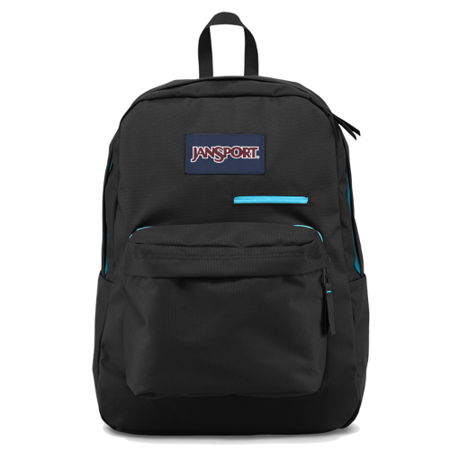 Jansport DigiBreak - Black/Blue Zip
