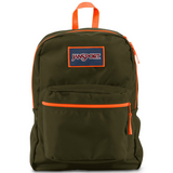 Jansport Overexposed - Green Machine/Fluorescent Orange
