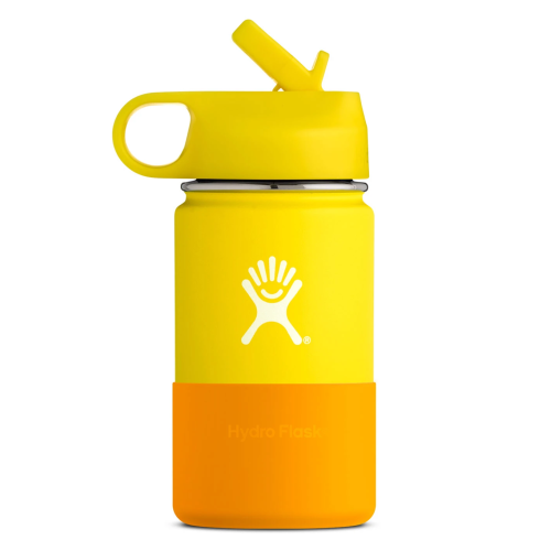 Hydro Flask for Kids 12oz Lemon