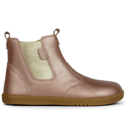 Bobux Kid+ Jodhpur Boot Rose Gold
