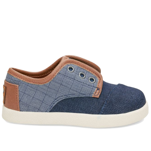 Toms Paseo Blue Denim / Textile