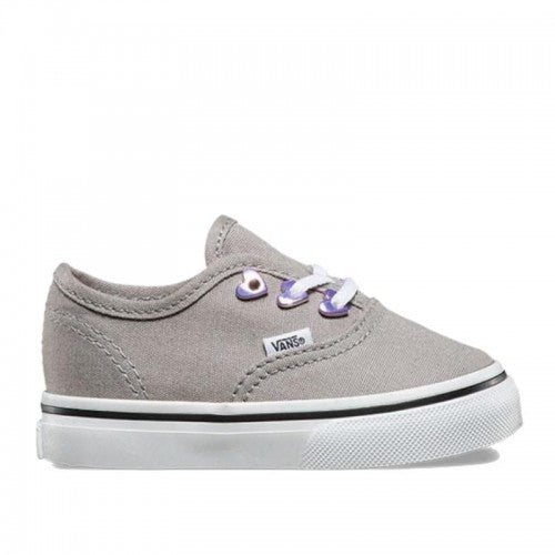 Vans Authentic Eyelet Hearts / Grey (Toddlers)